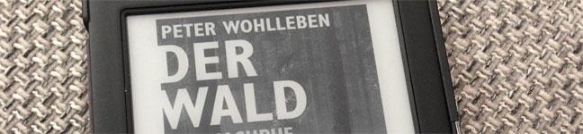 Titelbild: Der Wald - ein Nachruf - Peter Wohlleben