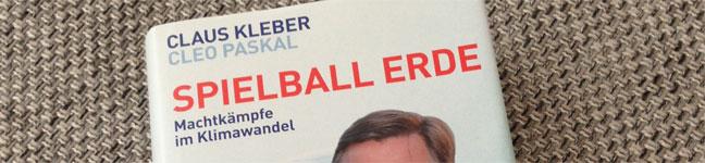 Titelbild: Spielball Erde - Claus Kleber