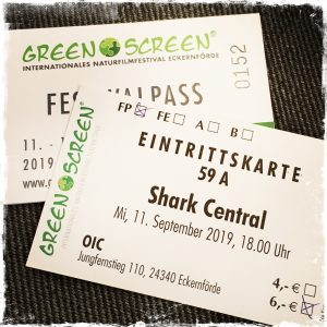 Green Screen, Ticket Tag 1, Shark Central